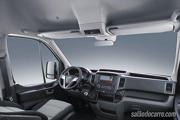 Hyundai H350 chega para concorrer com Sprinter