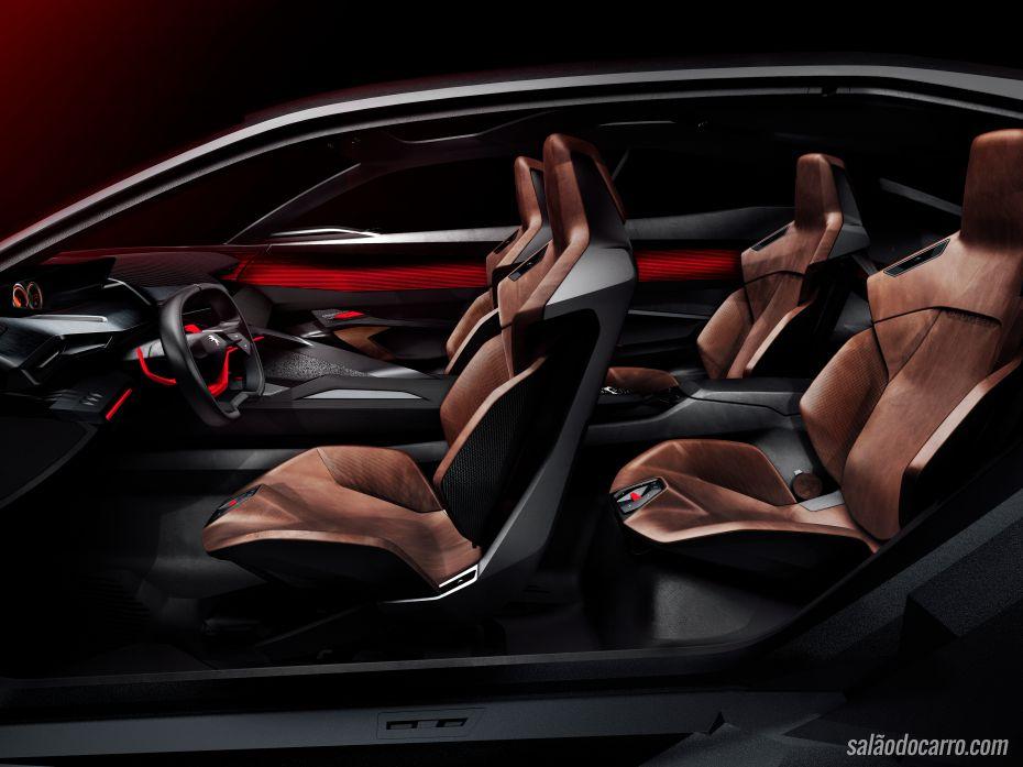 Peugeot Quartz Concept é o SUV do futuro