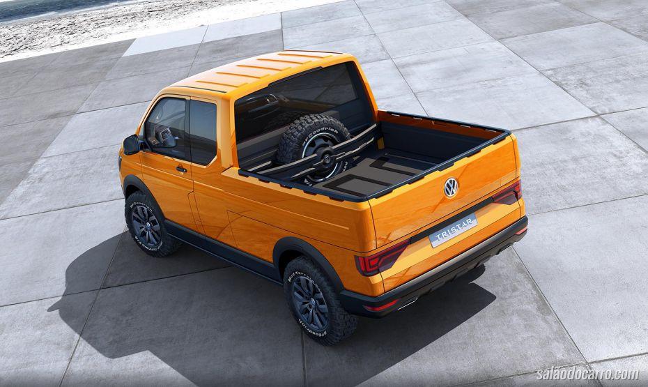 Volkswagen lança picape conceito Tristar