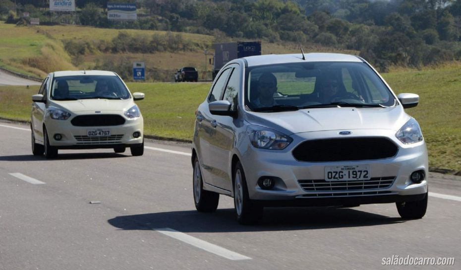 Ford convoca recall do novo Ka