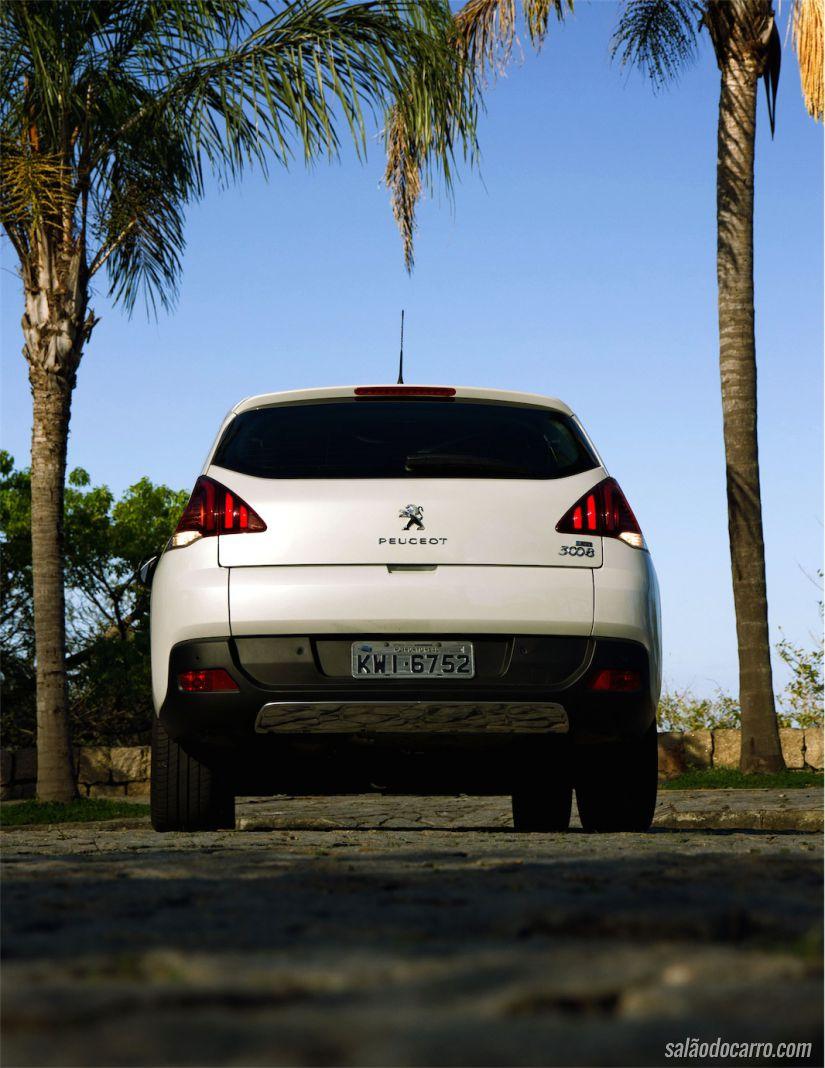 Traseira do Peugeot 3008 Griffe