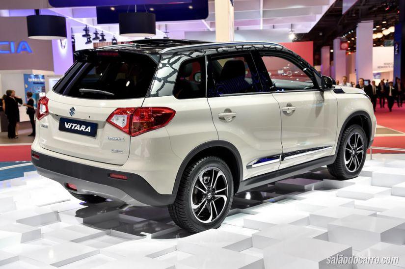 Suzuki revela oficialmente novo Vitara na França