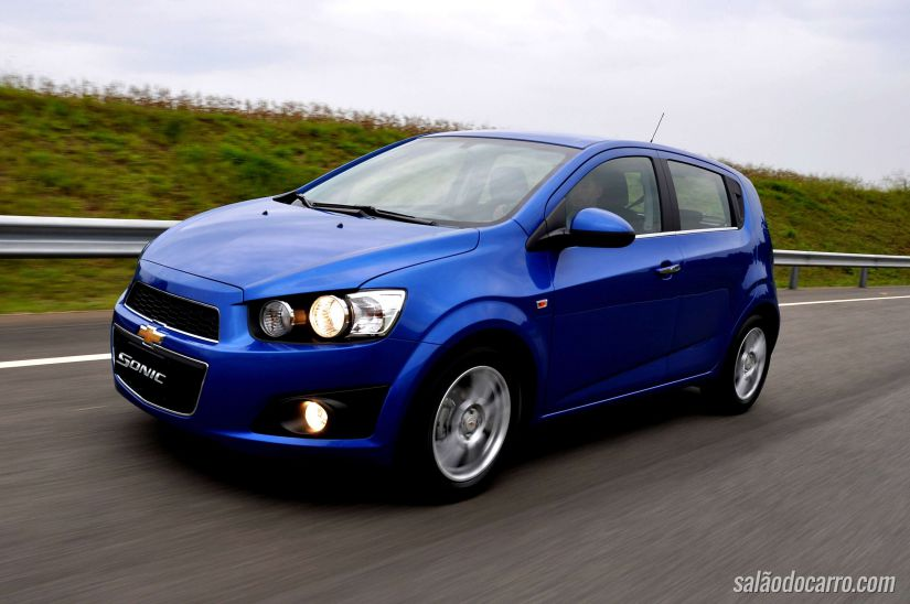 Chevrolet Sonic sofre recall
