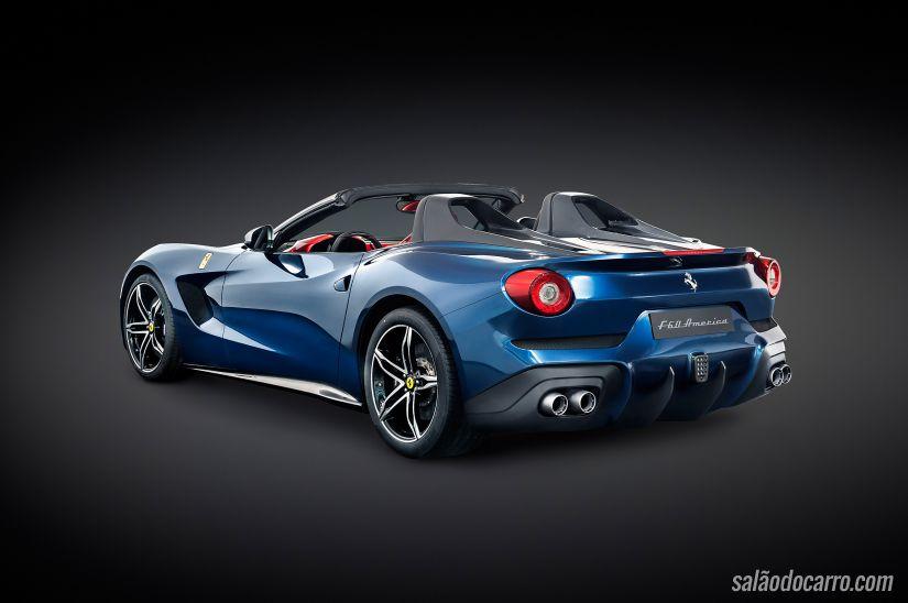 Ferrari lança F60 America comemorativa