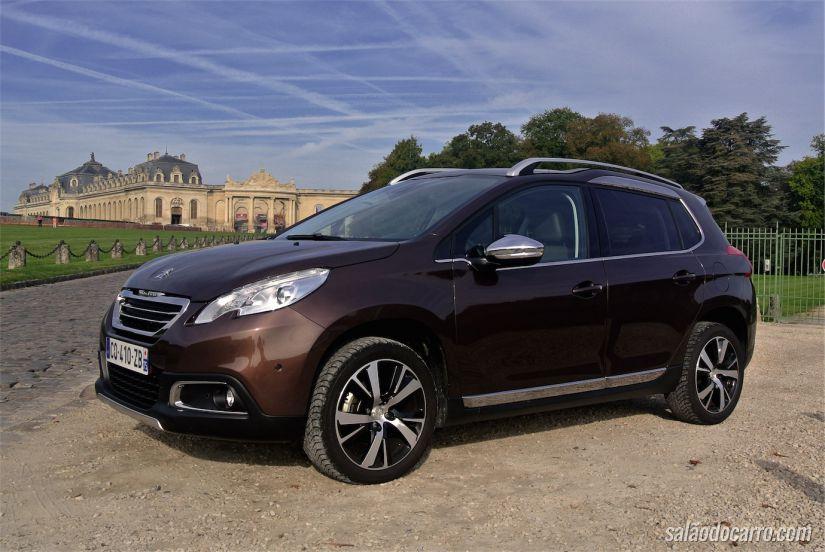 Peugeot 2008 chega ao Brasil em 2015