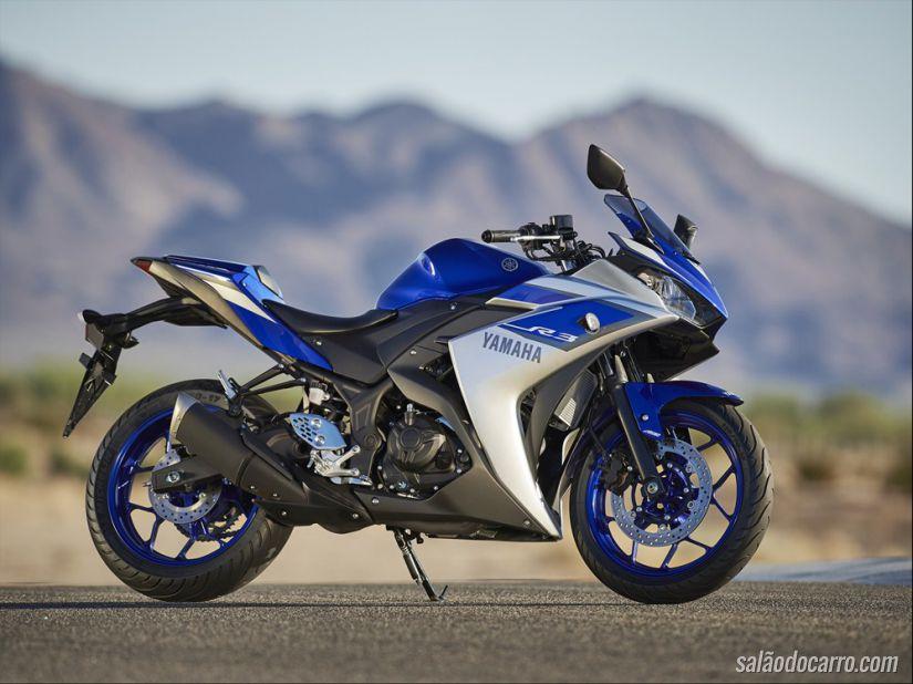 Yamaha revela o modelo YZF-R3
