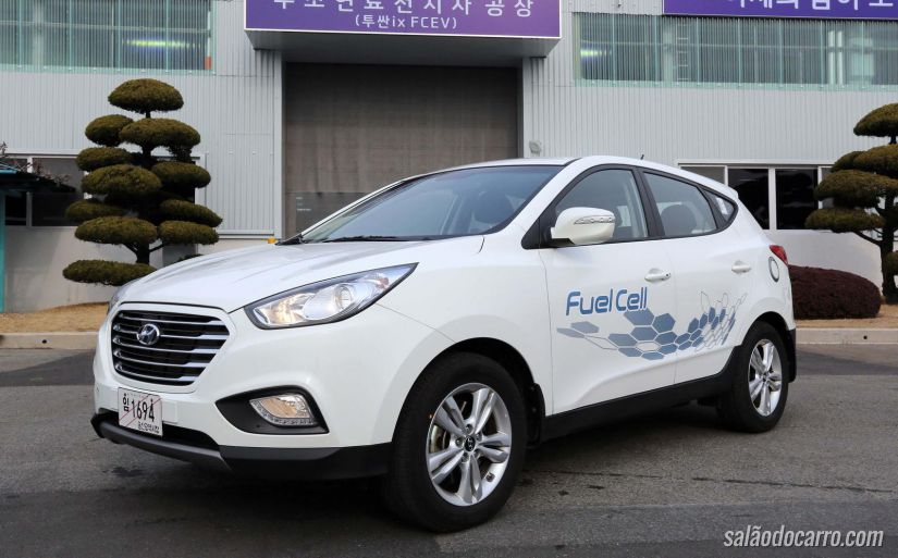Hyundai comercializa ix35 Fuel Cell na Grã-Bretanha