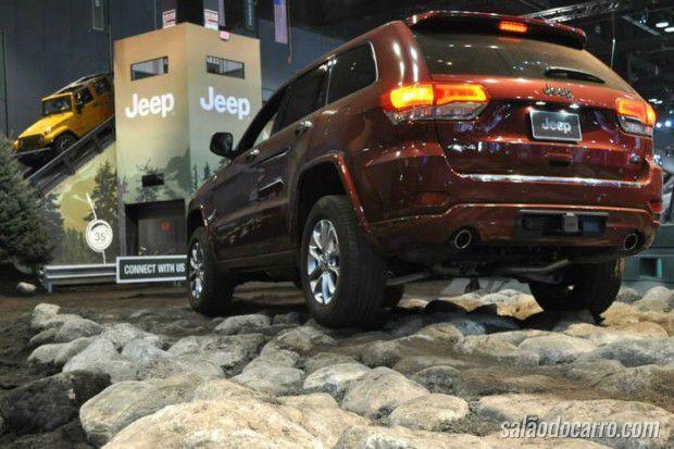 Jeep anuncia pista de tortura no Salão do Automóvel