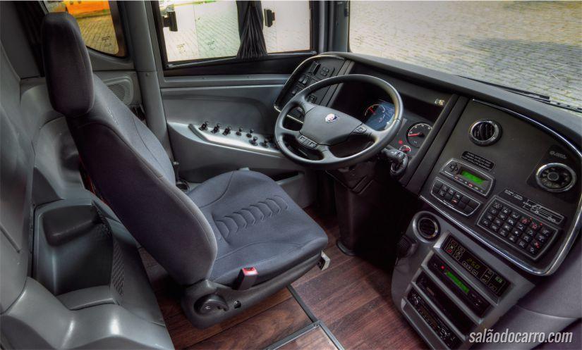 Cabine do ônibus