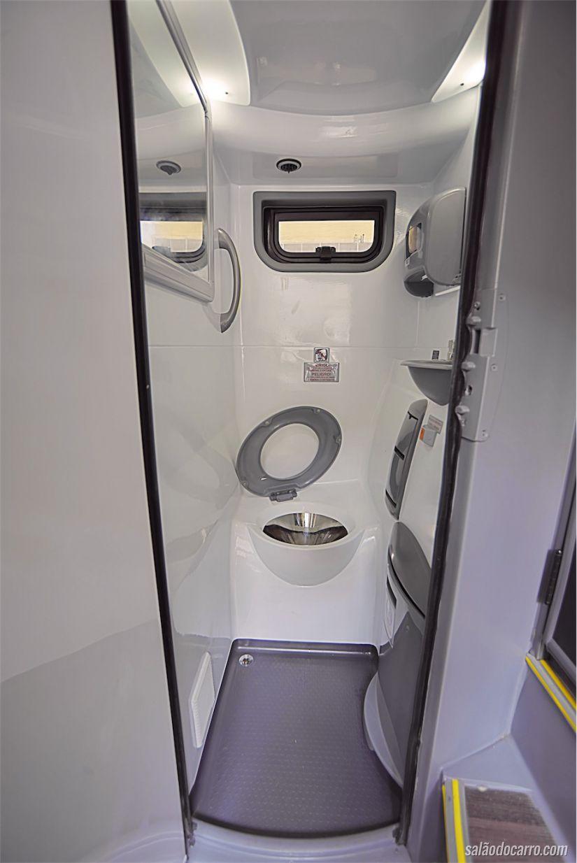 Banheiro do ônibus