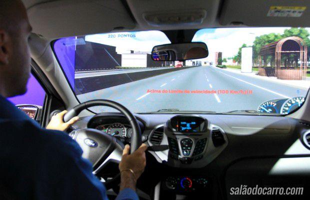 Ford cria o maior simulador de direção do Salão do Automóvel