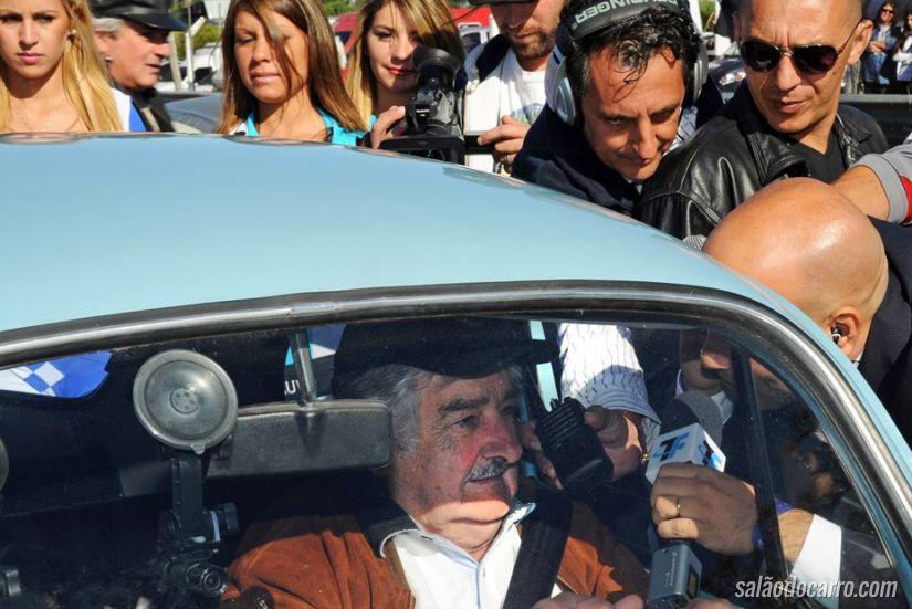 Mujica recebe proposta de US$ 1 milhão pelo seu fusca azul