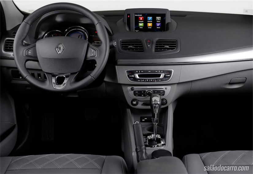 Interior do novo Fluence 2015