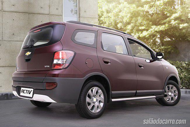 Chevrolet lança Spin Activ