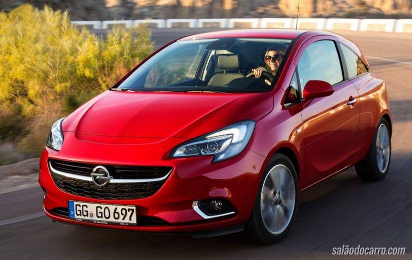 Opel lança novo Corsa
