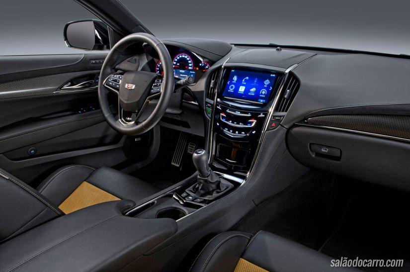 Cadillac lança ATS-V 2016