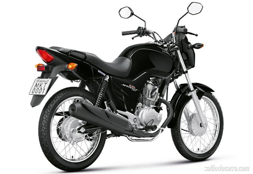 Honda lança CG 150 Start no Brasil