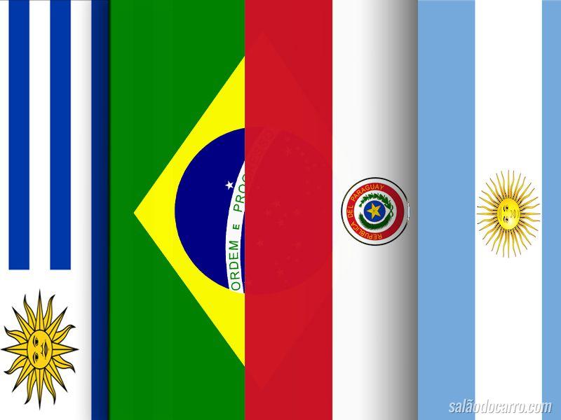 Novas placas serão adotadas no Mercosul