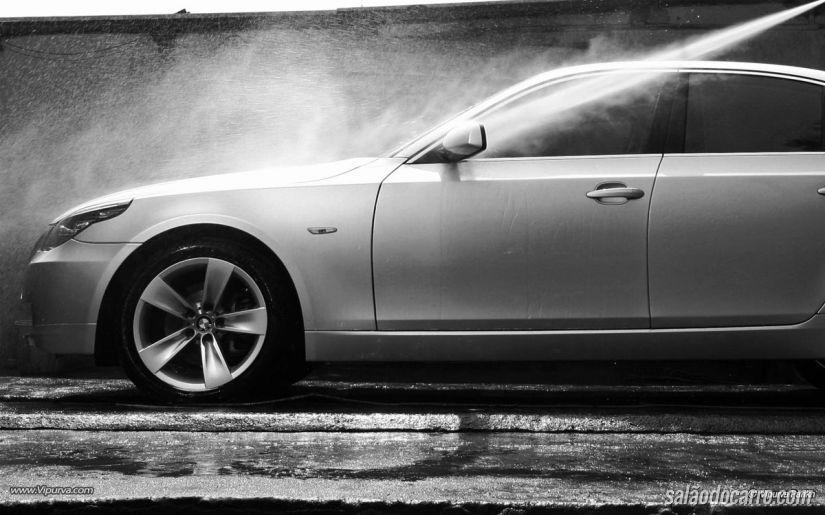 Lavagem do automóvel
