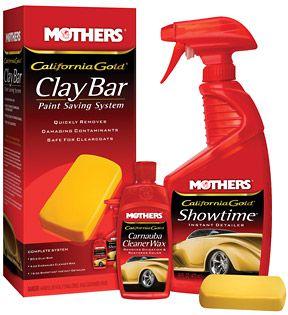 Claybar e aplicador da marca Mothers