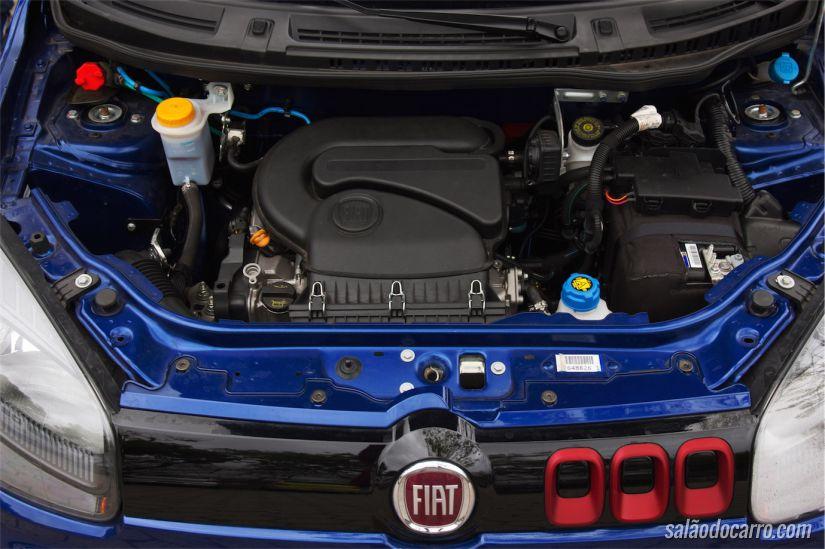 Motor que entrega 88cv no hatch, quando abastecido com etanol