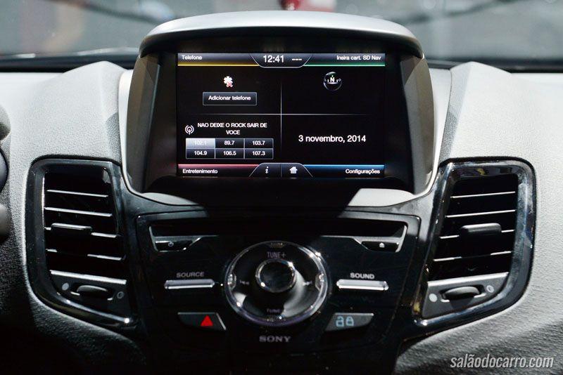 New Fiesta Sedan edição Titanium Plus