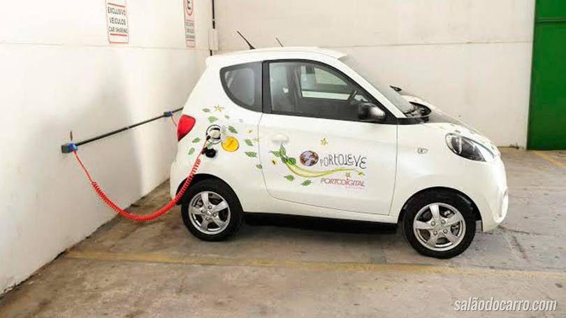 """Recife lança """"car sharing"""" de elétricos"""