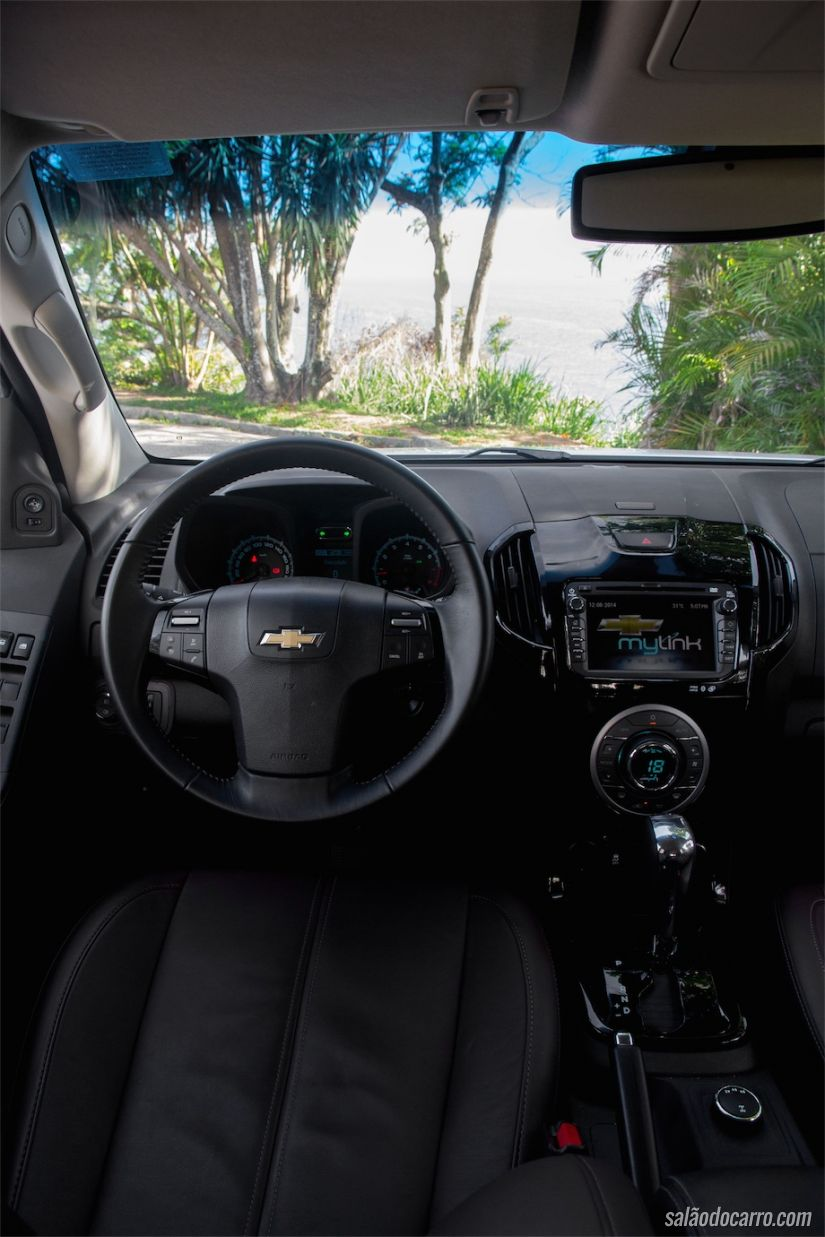 Interior da Chevrolet Trailblazer