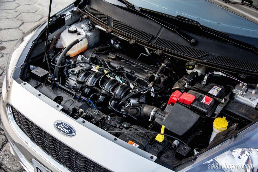 Motor de 110cv, quando abastecido com etanol