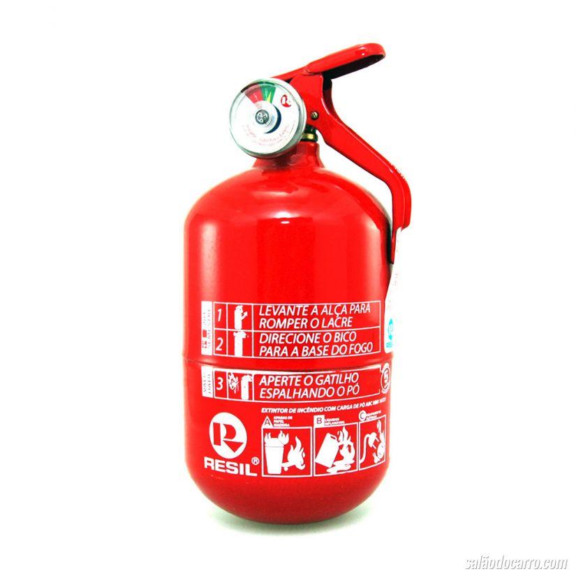 Extintor ABC passa a ser obrigatório em veículos