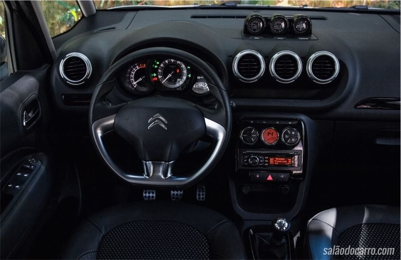 Interior do C3 Aircross