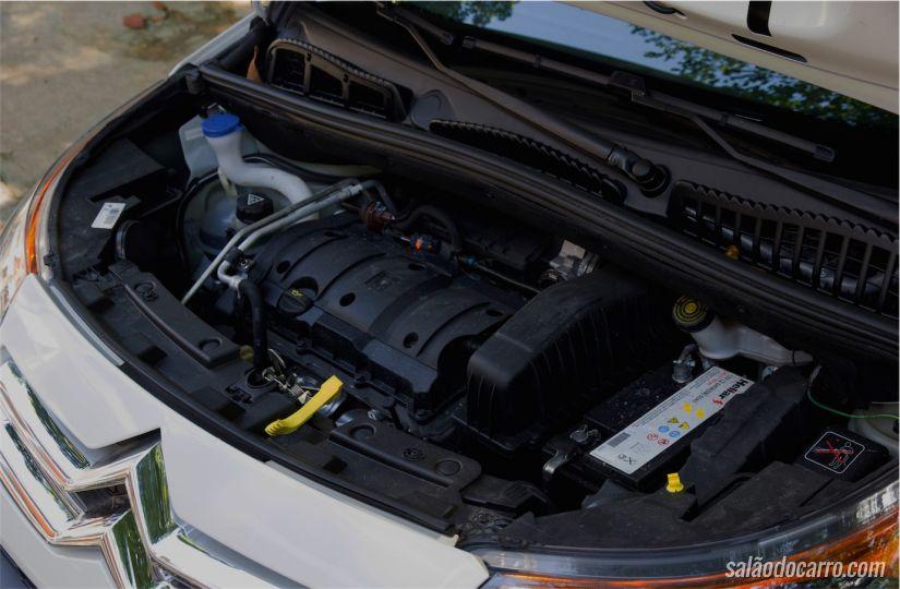 Motor 1.6 de 122 cv (com etanol)