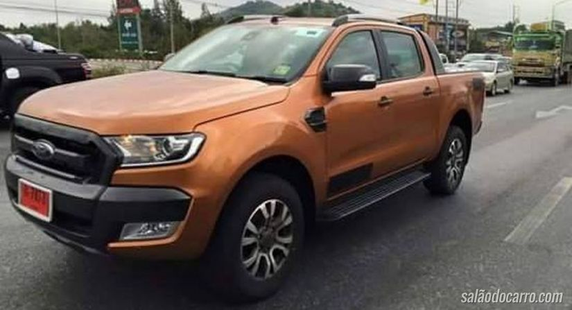 Ford Ranger ganhará versão Wildtrak 2015 em breve