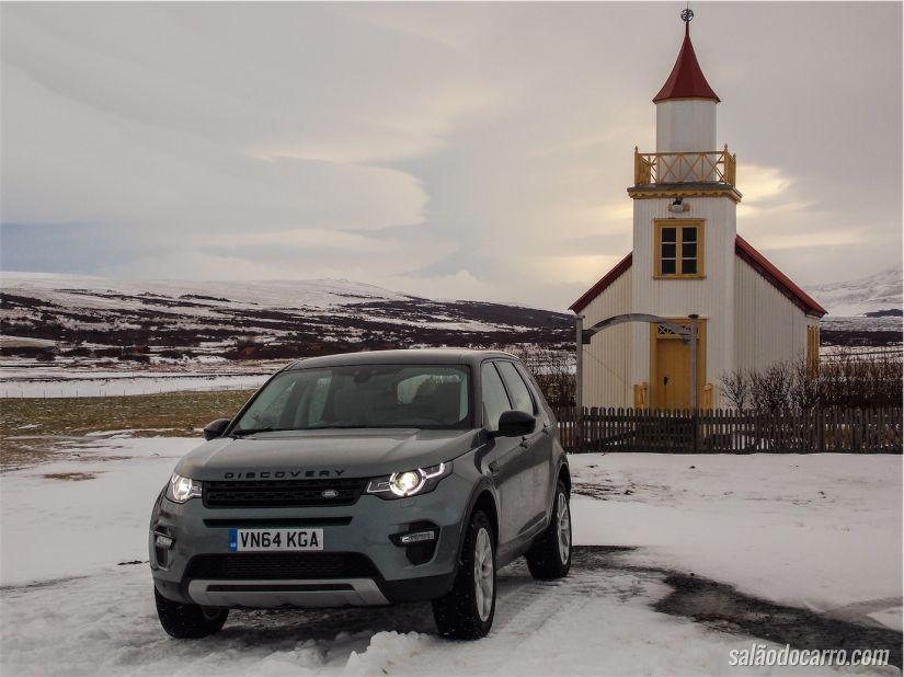 No frio da Islândia, Land Rover faz o lançamento da Discovery Sport