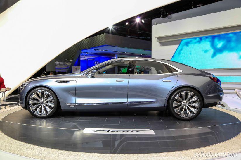 Sedan Buick Avenir é apresentado no Salão de Detroit