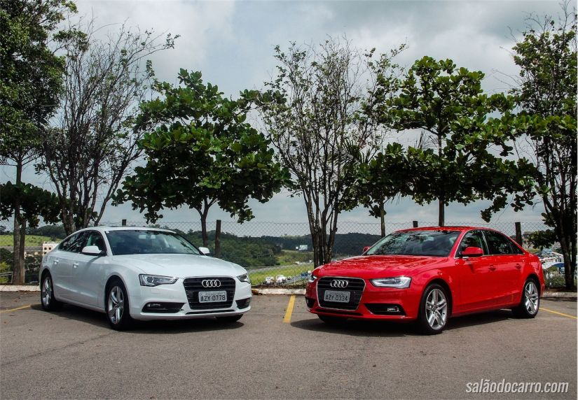 Audi A5 e Audi A4