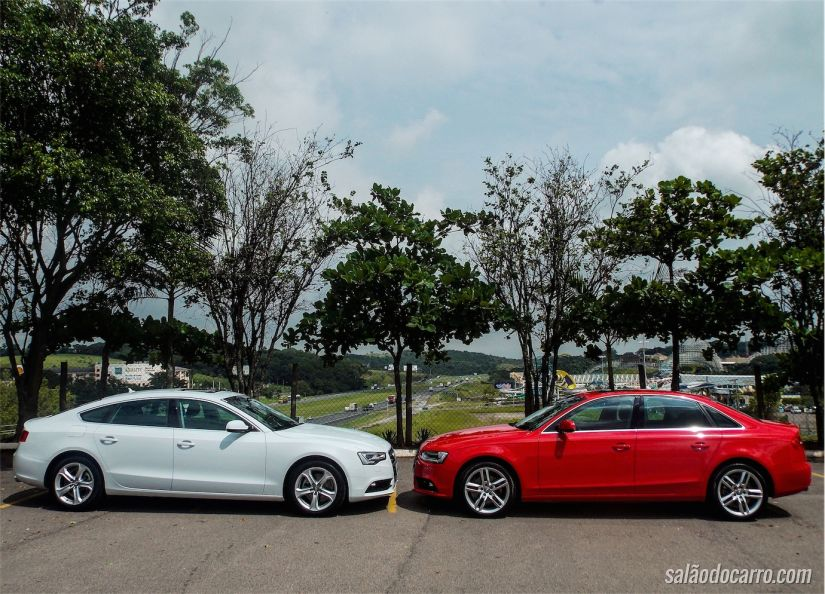 Cara a cara: Audi A5 e Audi A4