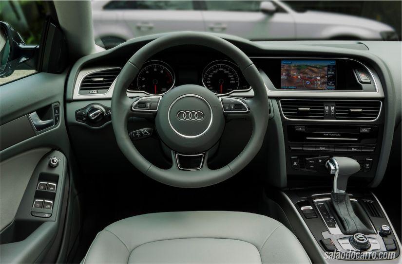 Interior do Audi A5