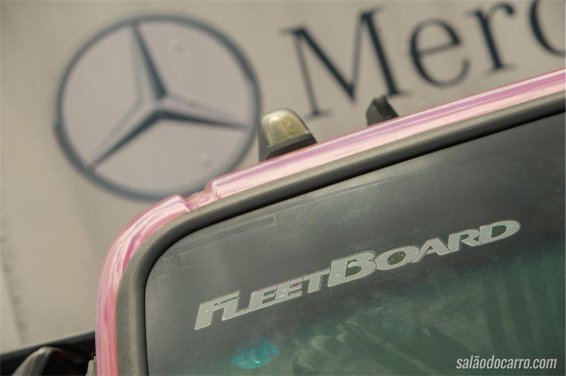 Detalhe do aparelho instalado (FleetBoard)