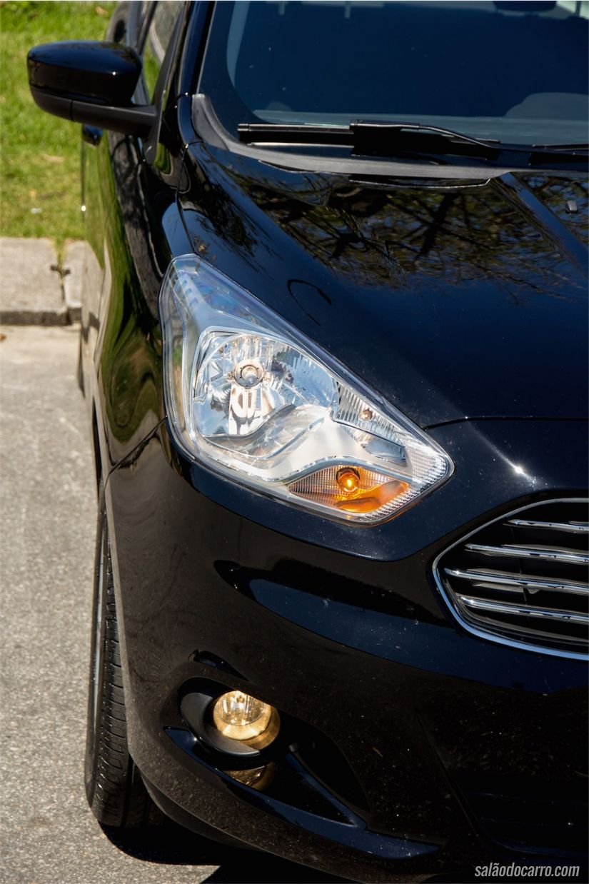 Conjunto óptico segue a linha global da Ford