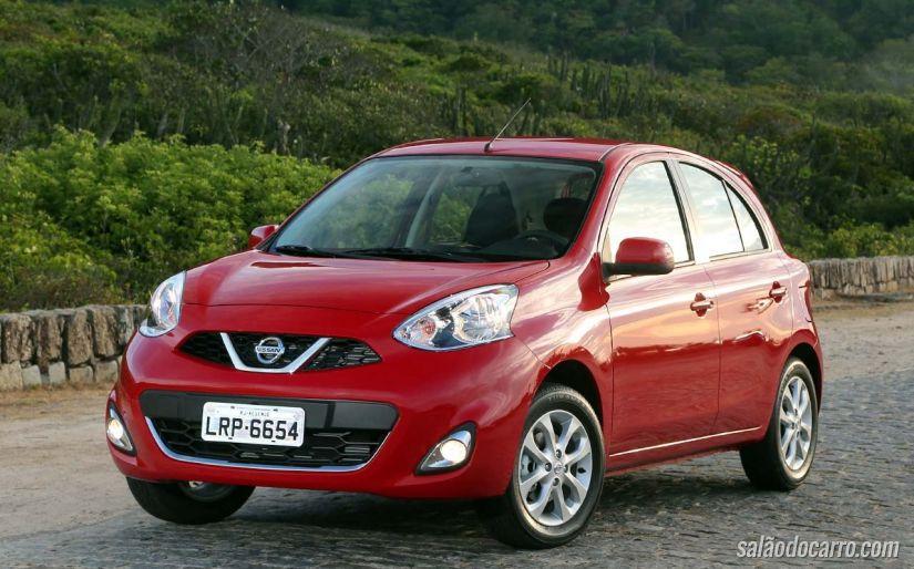 Nissan March recebe motor 1.0 de 3 cilindros
