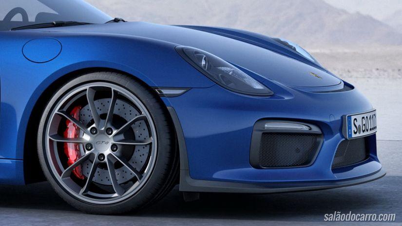 Porsche revela novo Cayman GT4