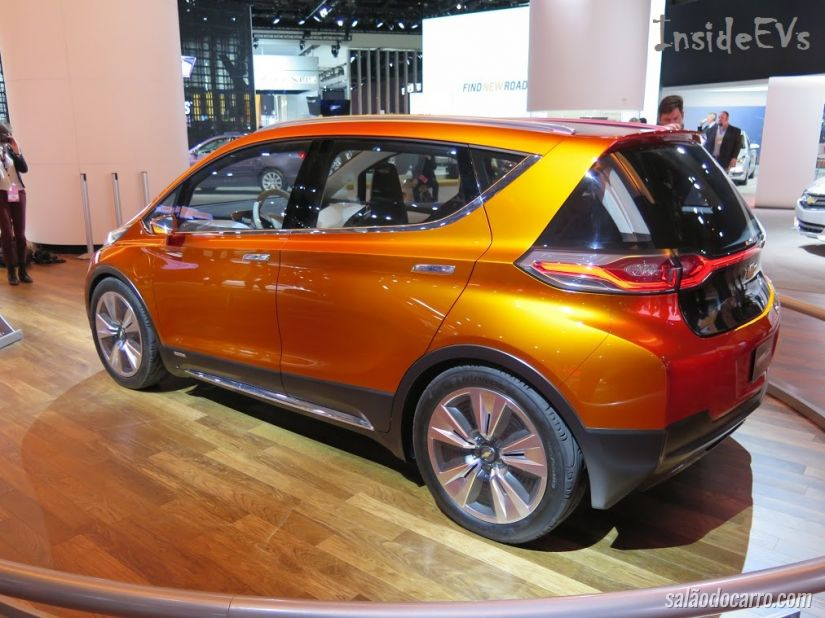 Chevrolet Bolt será produzido em 2016
