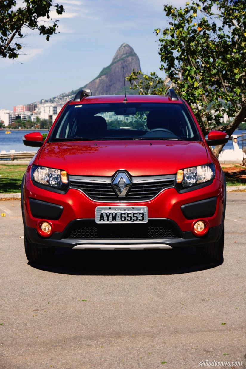 Frente do Sandero Stepway