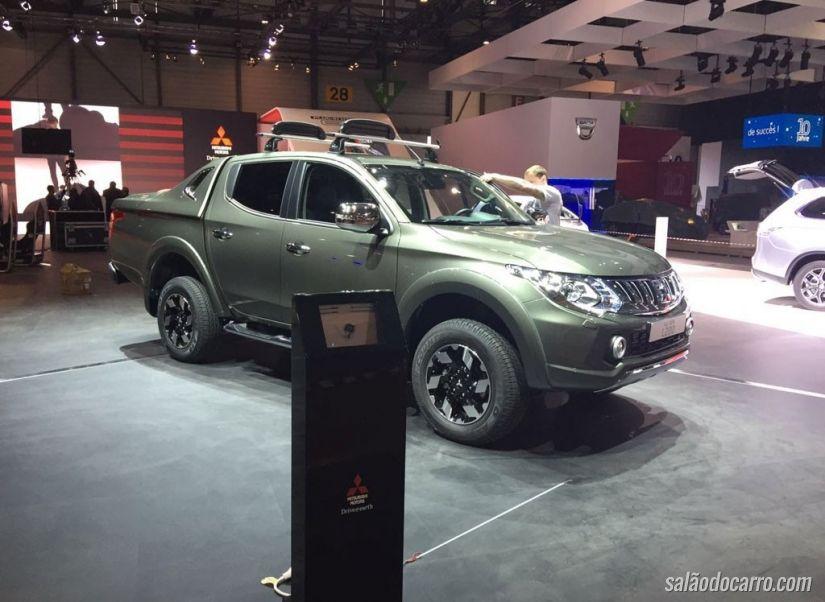 Nova geração do Mitsubishi L200 é apresentada em Genebra