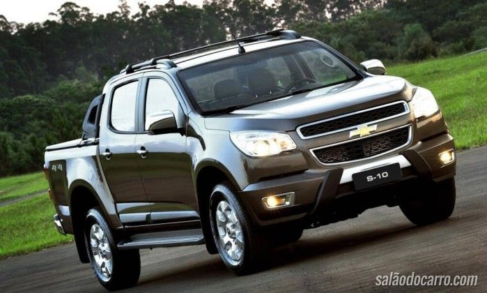 Chevrolet convoca recall do S10