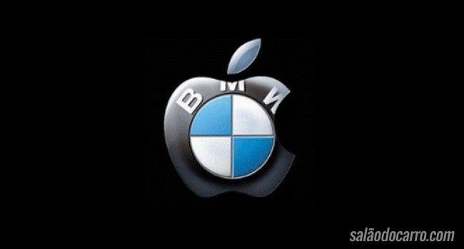 Parceria entre BMW e Apple vai rolar