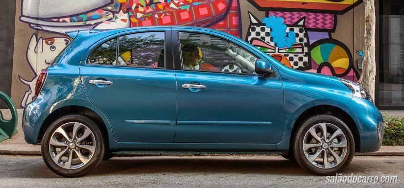 Nissan March de 3 cilindros tem preços a partir de R$ 35.990