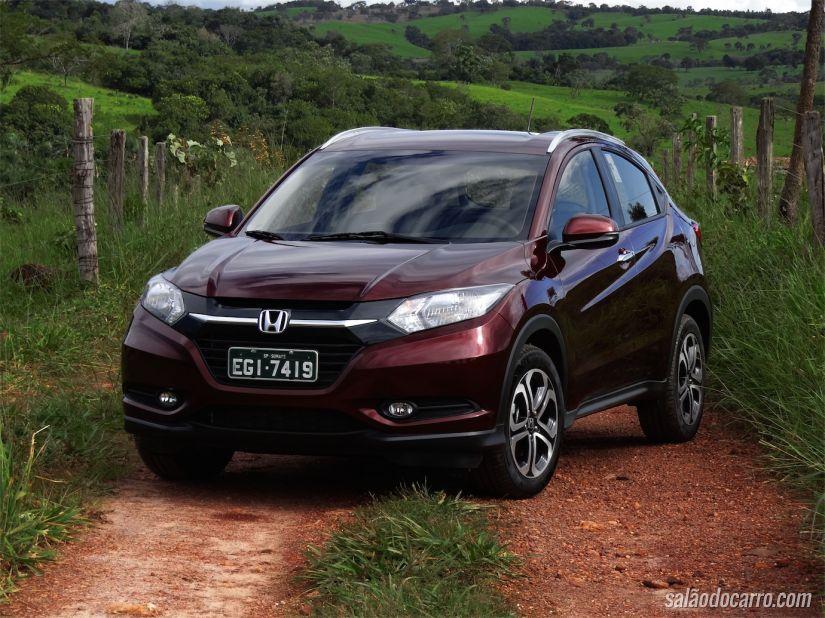 HR-V vem pra brigar forte no segmento dos SUV compactos