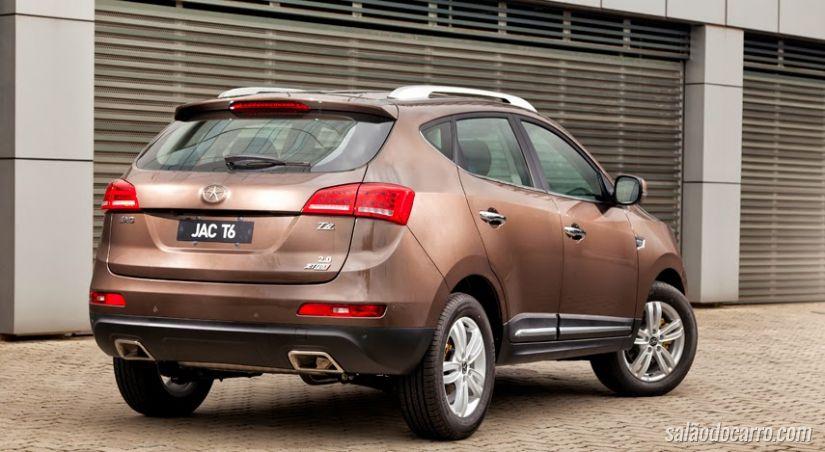 JAC T6 parte de R$ 72.310, mais caro que o EcoSport